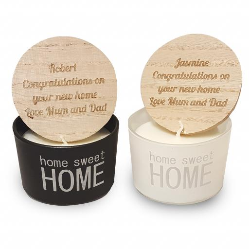 Home Sweet Home Scented Candles