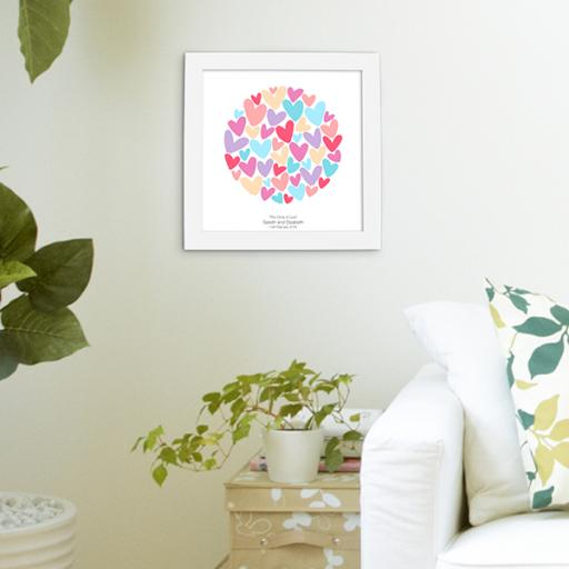 Framed 'The Circle Of Love' Print