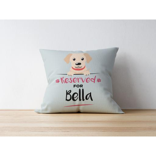 Personalised Labrador Cushion
